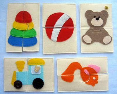Заметки фетроголика. Изделия из фетра: Сново игрушки малышам из фетра и Пуговицы надо?
