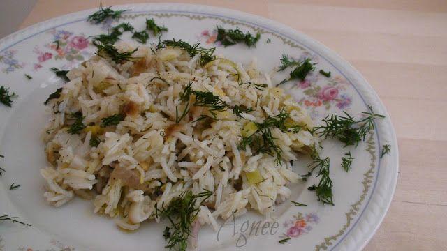 Ágni görög konyhája: Praszorizo avagy póréhagymás rizs (Πρασόρυζο)