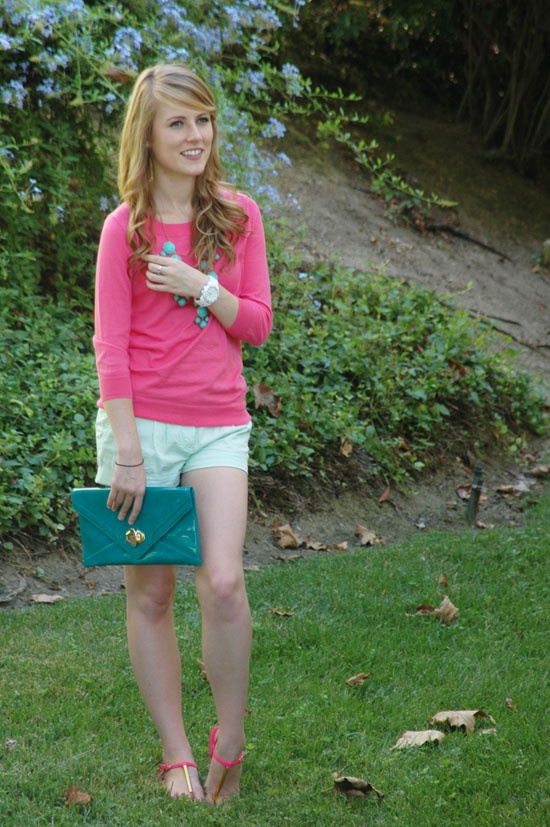 More Pink, More GreenFashion, Post, Style, Green, Pink