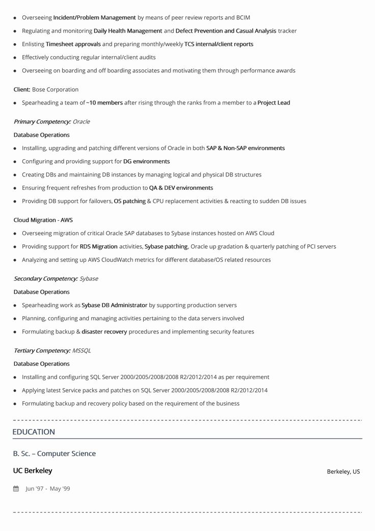 2 Page Resume format Luxury Two Page Resume format 2019