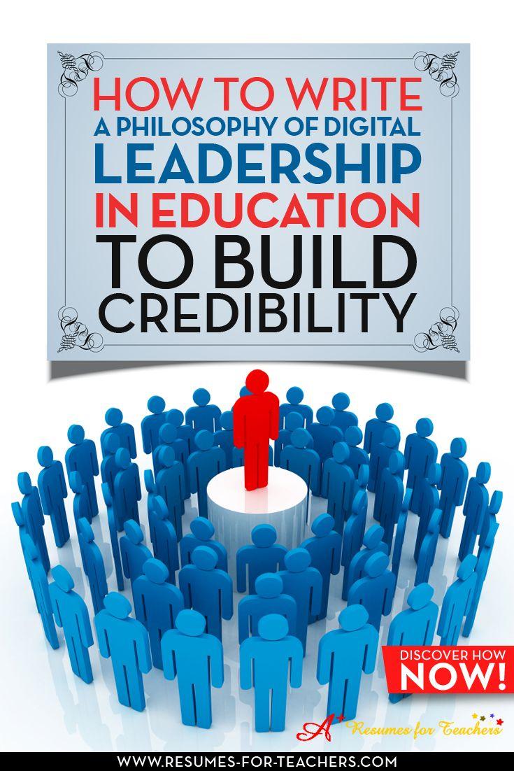 how do i write a leadership philosophy