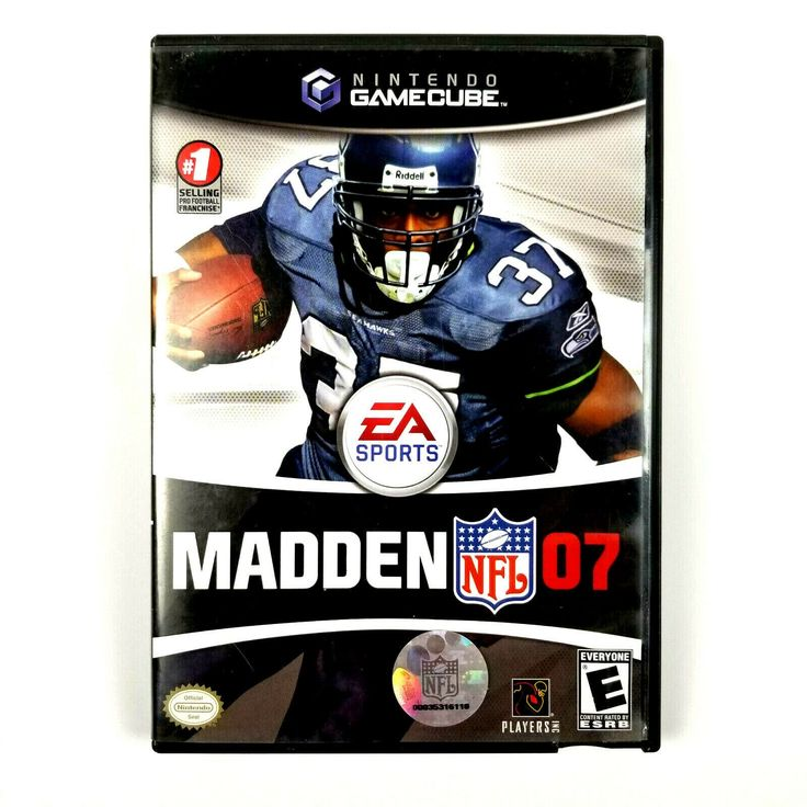 Madden NFL 07 EA Sports Nintendo Gamecube Video Game with