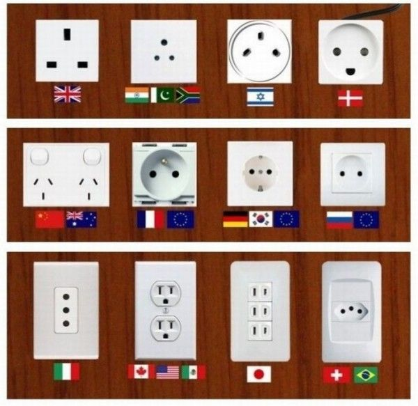 Plugs of the world.  I want to use all of these.  Travel Goals, go!