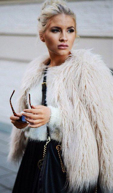 Best 25 Faux Fur Coats Ideas On Pinterest Faux Coat