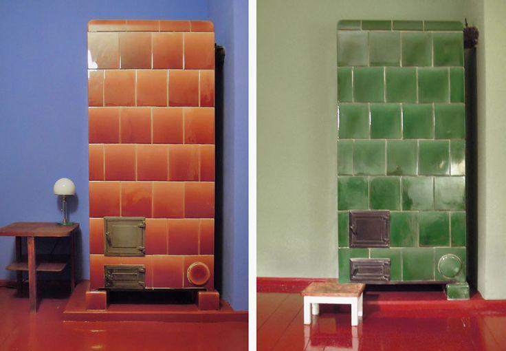TAUTES HEIM (Ferienhaus in Berlin) > Original-Farben im Innenraum