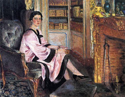 Jacqueline Boudoin by Edouard Vuillard