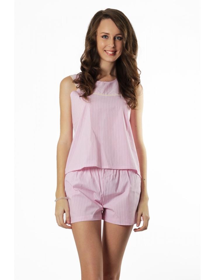 Zega Store - Pijamale Mushroom, culoarea roz - Femei, Pijamale