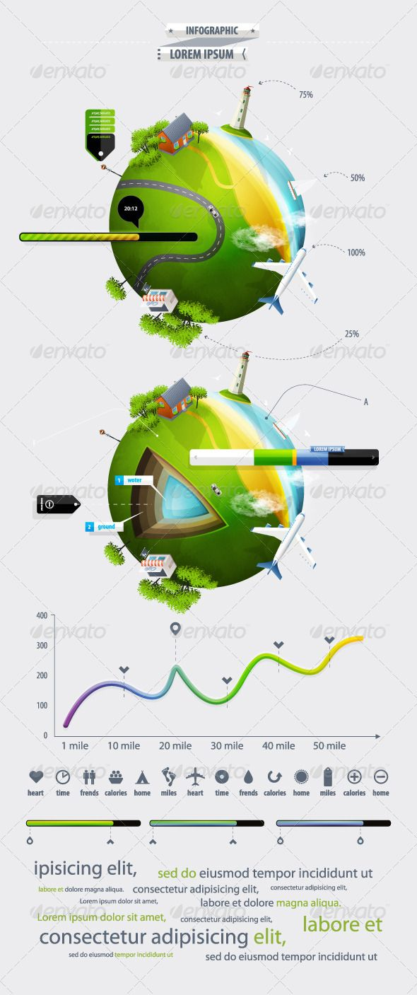 66 best infographic elements images on pinterest for Earth elements organics