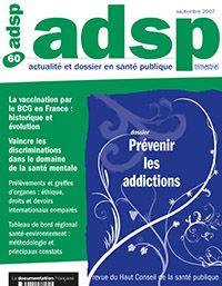 adsp n° 60 - Prévenir les addictions
