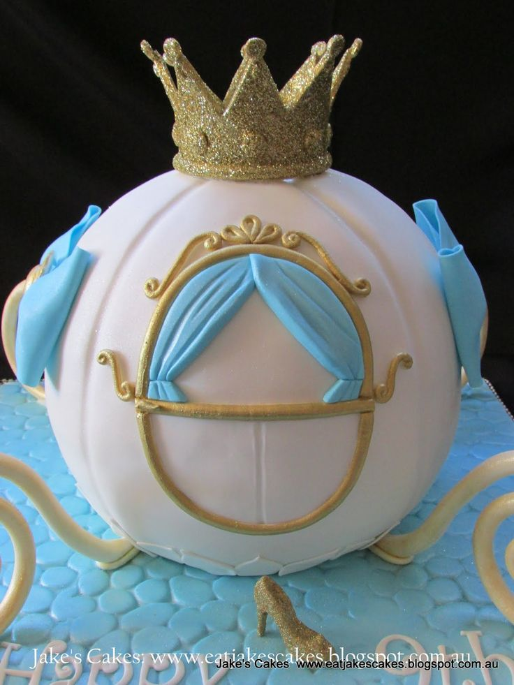 Cake Design Cinderella : 25+ best ideas about Carriage Cake on Pinterest Car cake ...