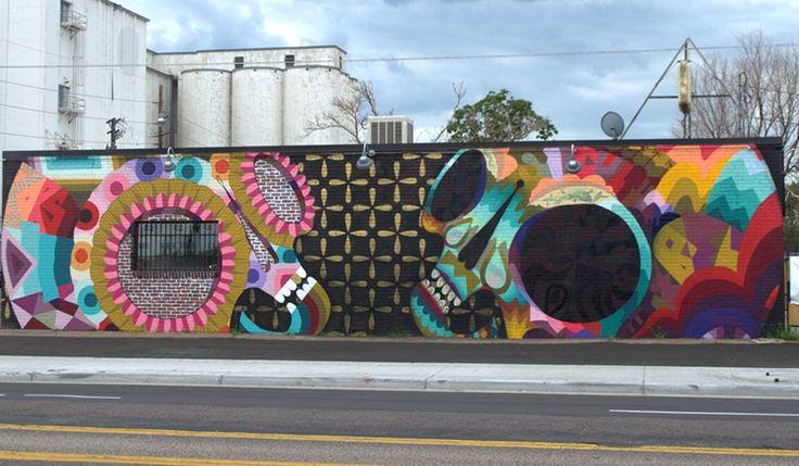 The Twelve Best Street Art Murals On Denver Co