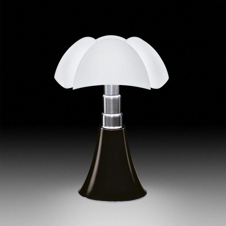 Lampe Mini Pipistrello noir mat- Martinelli Luce
