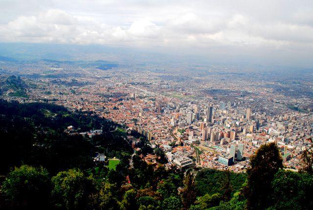 Day 160: Bogota skyline from Cerro Montserrate, Bogota (Colombia)