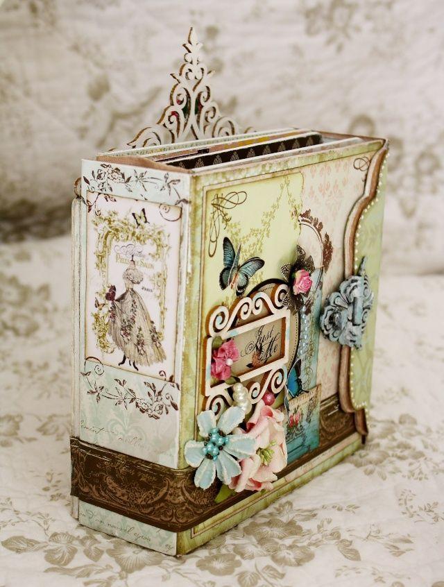 mes minis - Les copines - Perle de Rose - Entre Nous - Une soirée de… - Une vie de château - Jour de neige - scrap douceur PapillonRose