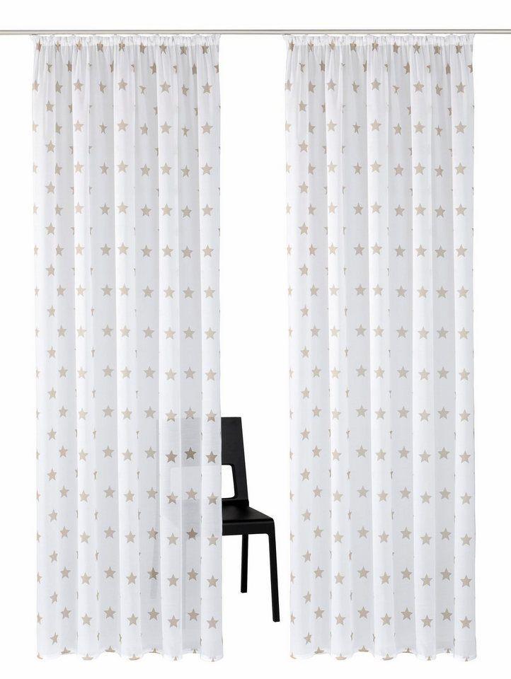 gardine montreal my home kruselband 2 stck - Gardinen Wohnzimmer Otto