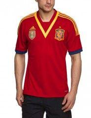 Camiseta  Adidas de la selección española fútbol temporada 2013-2014