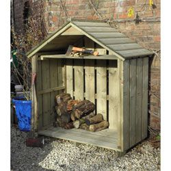 Log Stores | Log Storage | Log Basket | Wood Storage