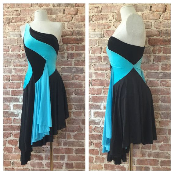 Size XS - 80s Leotard Dress / 80s One Piece Bodysuit Dress / Dance Costume / Disco / Ice Capades