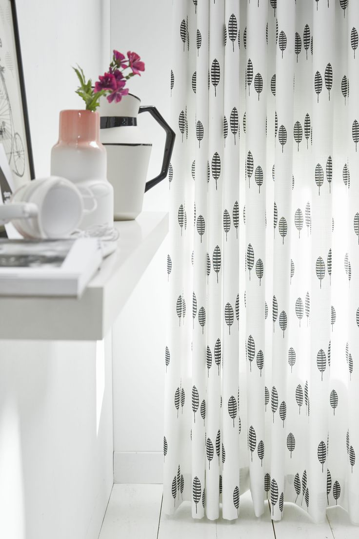 Gedessineerd gordijn Lotta #gordijnen #curtains #Gardinen #Vorhänge
