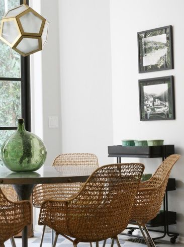 """""""When my team and I took the time to dig into how they were living in the space, the concept turned into the entire home."""" Los Angeles Home by Nate Berkus"""