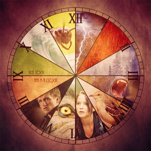 This gives me the chills!The Hunger, Cant Wait, Catching Fire, Old Clocks, Front Doors, Hunger Games, Hungergames, Ticktock, Tick Tock