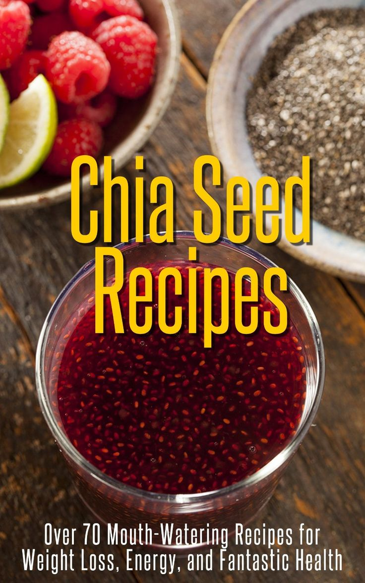 how to lose weight with chia seeds and water