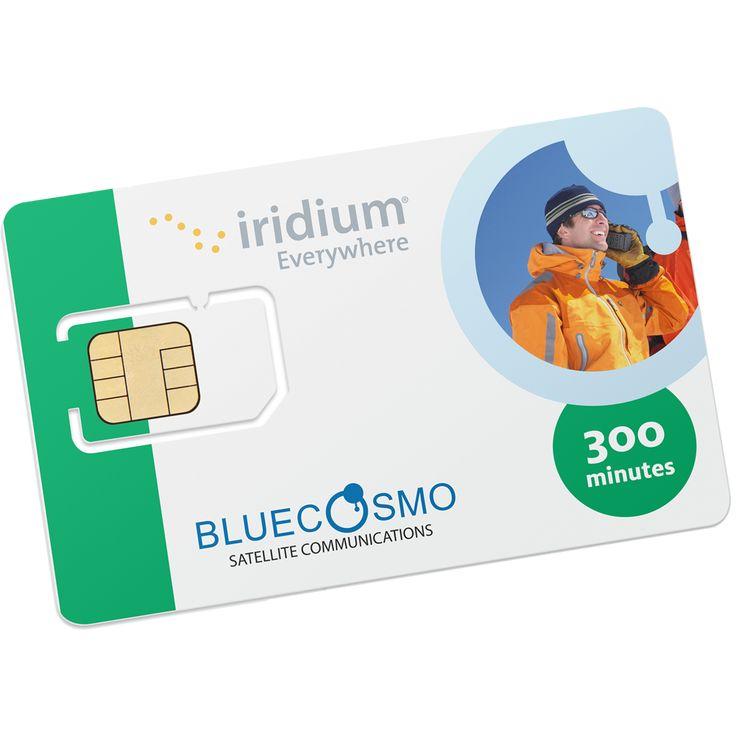 Iridium 300 minute 1 year global prepaid satellite phone