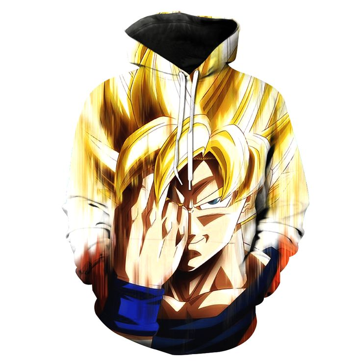 3D Hoodie Dragon Ball Z Goku
