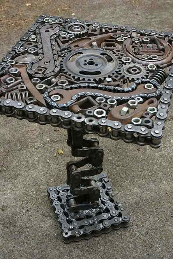 177 best bike images on pinterest cycling quotes wheels and black top 23 extremely awesome diy industrial furniture designs solutioingenieria Images