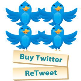 Buy Twitter Retweets and Favorites delivered in 24 hours via http://BuyTwitterAndInstagramFollowers.com/Retweets.