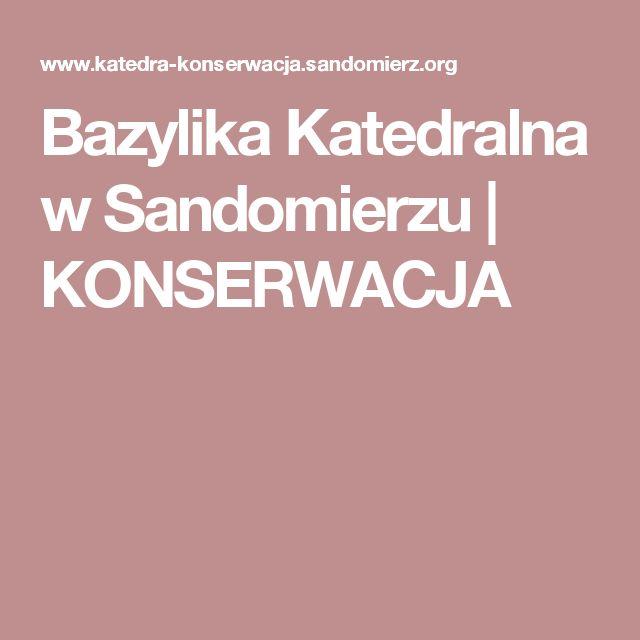 Bazylika Katedralna w Sandomierzu | KONSERWACJA