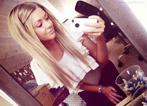 so doing my hair like this....I'm sure it will look just as cute on shorter hair