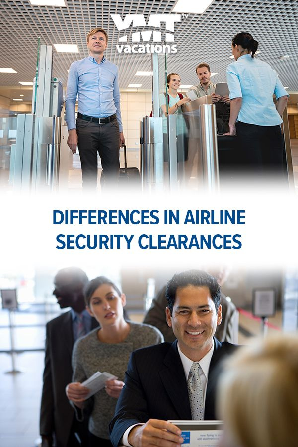 Differences Between Airline Security Clearances In 2020 Global Entry Tsa Precheck Airline