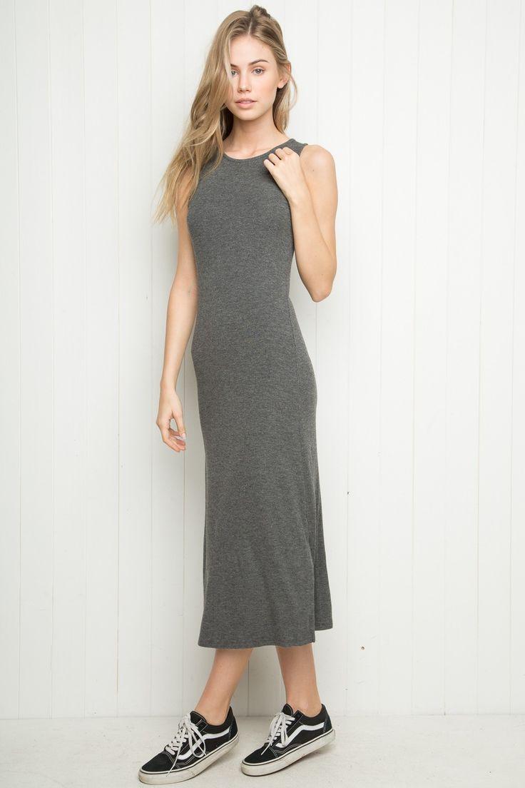 Black t shirt dress brandy melville - Brandy Melville Celest Maxi Dress Clothing