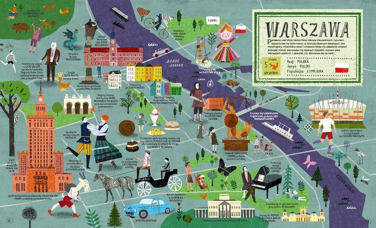 Atlas miast - Wydawnictwo NASZA KSIĘGARNIA