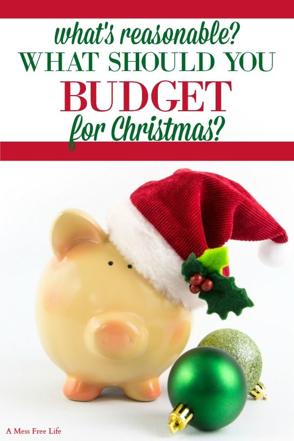 What Is A Reasonable Christmas Budget | CHRISTMAS & GIFTS ...
