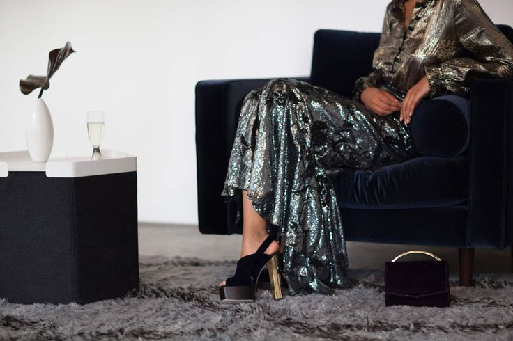 How to Add the Right Amount of Sparkle to Your New Year's Eve Outfit