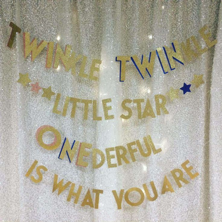 TWINkle TWINkle Little Star ONEderful Is What You Are Birthday Party Ideas | Photo 9 of 34 | Catch My Party
