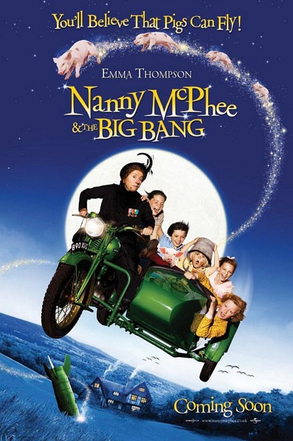 Nanny McPhee and the Big Bang (2010). No surprises in the plotline but you can't help but watch and enjoy.