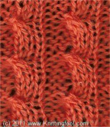 Knitting Stitch Reference : 1000+ images about Knitted Stitches on Pinterest