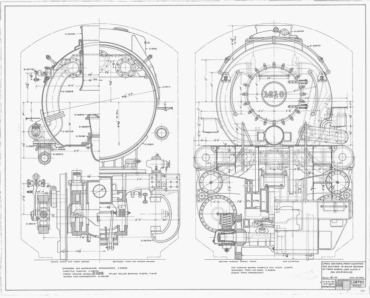 60 best N&W And VGN Steam Locomotive Technical Drawings