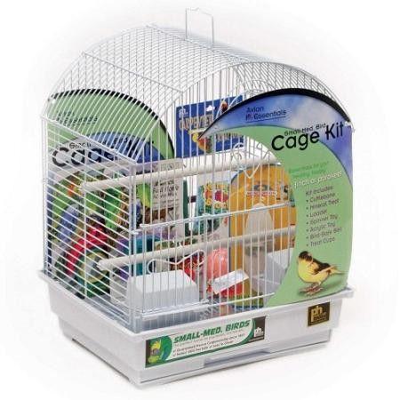 Round Roof Bird Cage Kit #birdcage