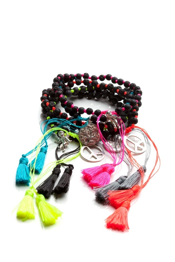 $40 each - lava bracelets