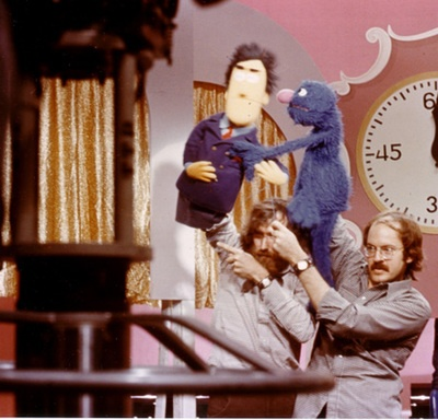 Jim Henson and Frank Oz... Love them.Grover, Heroes, Muppets Sesamestreet, Jim Henson, Sesame Streets, The Muppets, Frank Oz, Henson Guys, Guys Smileys
