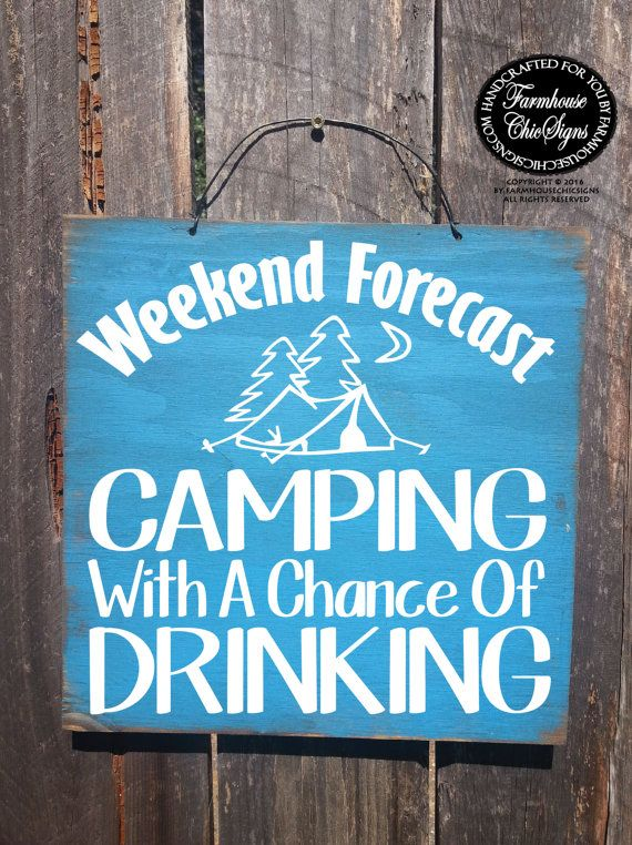 camping decor camping sign camping by FarmhouseChicSigns on Etsy