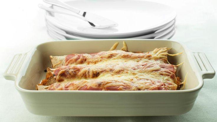 Oppskrift på Enchiladas med kjøttdeig