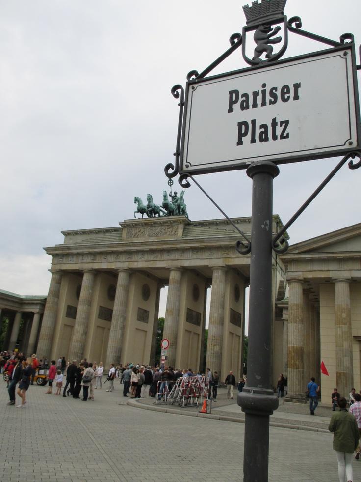 #Pariser Platz #Brandenburg Gate