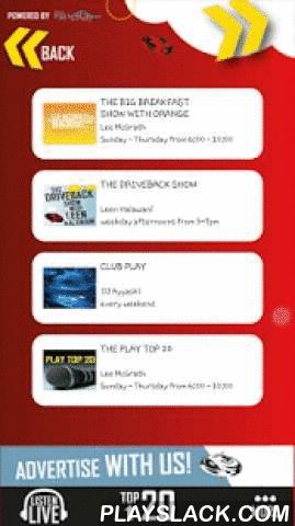 Play 99.6  Android App - playslack.com , Play 99.6 is the Middle East's most vibrant, energetic and original radio station bringing new standards to radio broadcasting in the region.Born on the 5th of October 2004, Play 99.6 was the first privately-owned, commercial English speaking music station, and the first radio station to provide hit music 24 hours a day.From state of the art studios in the heart of Amman, Play 99.6 broadcasts a mix of the best hits, the coolest live shows, and the…