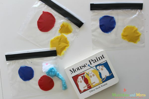 Mouse Paint Color Mixing
