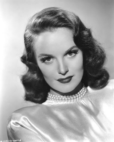 Dorothy Hart (1922–2004). American screen actress, known mostly for her supporting roles. A former model, she was luminously beautiful and signed to a contract by Universal Pictures after having made only one film in 1947. The studio system couldn't quite find roles for her and she ended up in Westerns, prison sagas, Tarzan movies, and B movie roles. She grew to detest Hollywood and left in 1952. She was very active in working through the United Nations for the world's children. (Source…